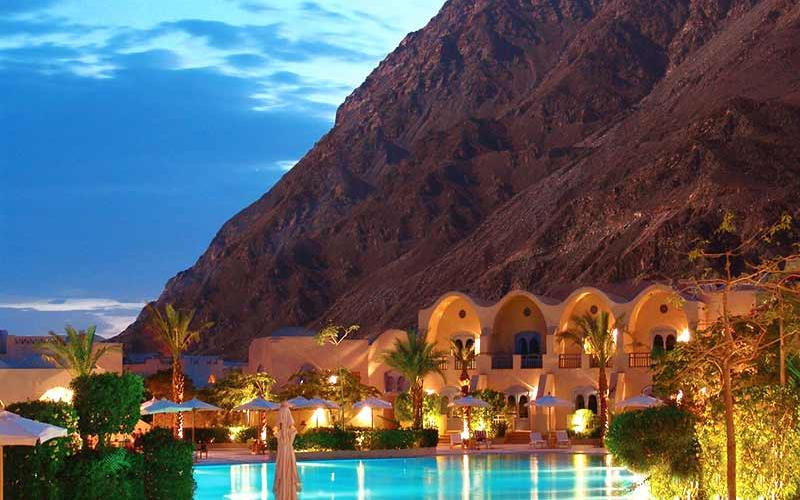 El Wekala Golf Resort Taba Hieghts Mountain  View