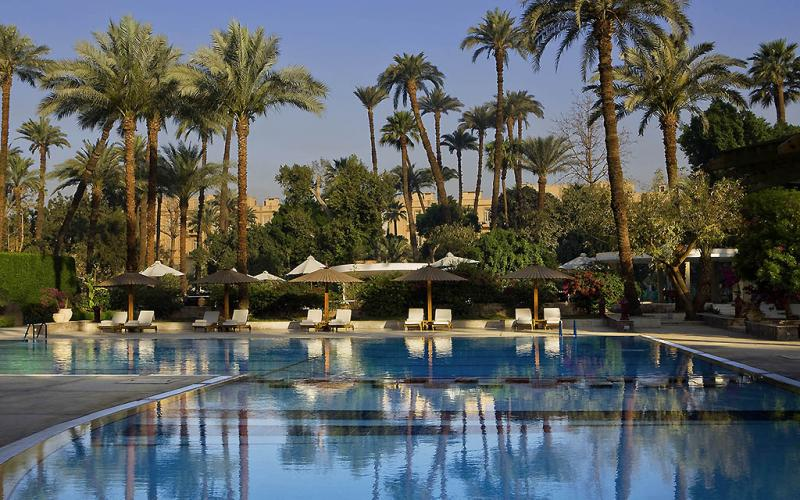 Sofitel Winter Palace Luxor Hotel - Swimming Pool -