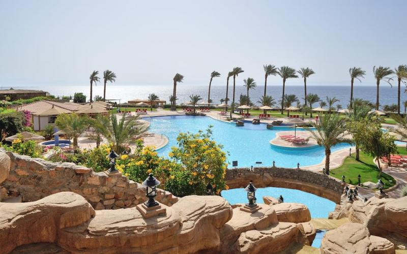 Ecotel Dahab Resort Pool View