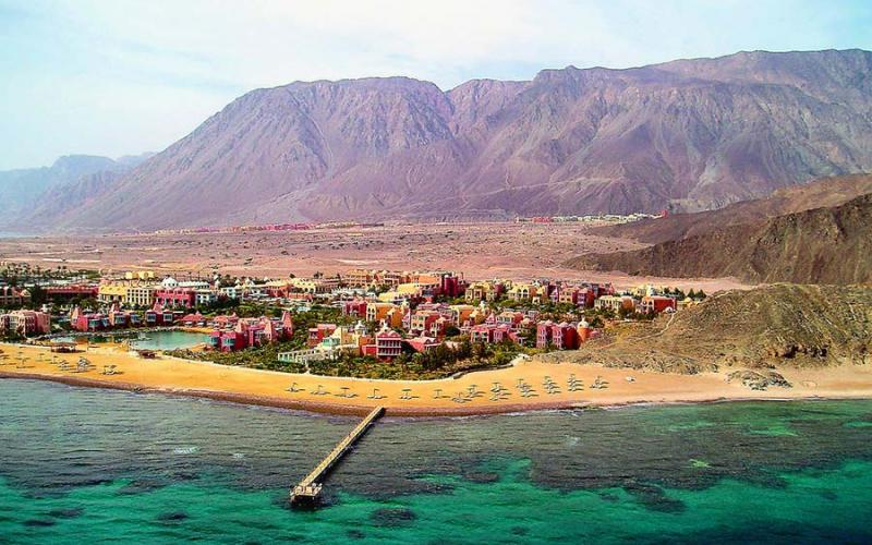 El Wekala Golf Resort Taba Hieghts Over View