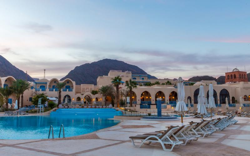 El Wekala Golf Resort Taba Hieghts Pool