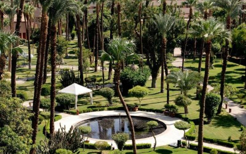 Sofitel Winter Palace Luxor - Land spaces -