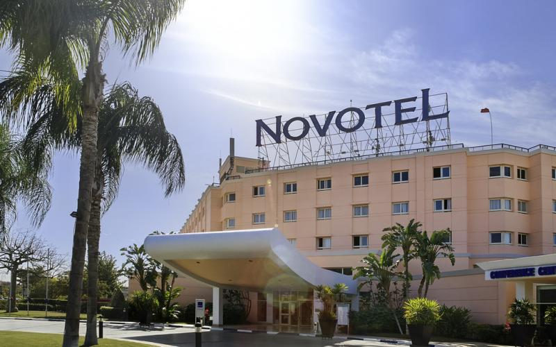 Novotel Cairo 6th of October -Entrance -